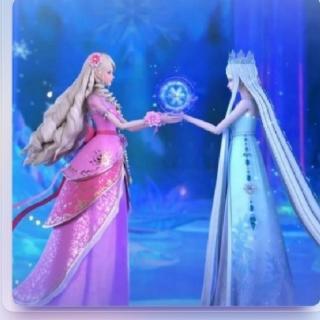 歆炎姐姐讲故事~冰公主和灵公主比美