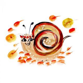 【故事课堂】怕黑的蜗牛