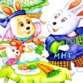 爱挑食的小白兔
