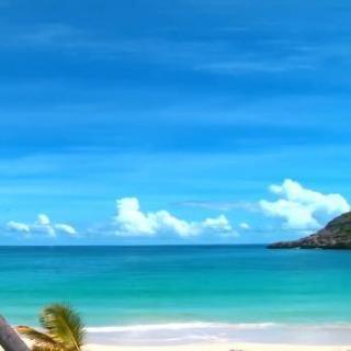 放松助眠—窗外沙滩海景白噪音(建议循环)