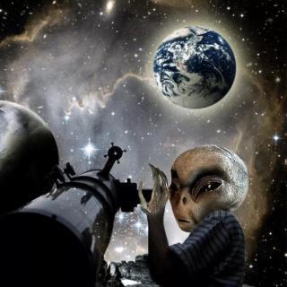 来自星星的事之外星人降落地球