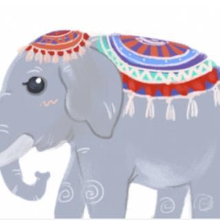 示范区第二幼儿园千千老师讲故事❤️:《花格子大象艾玛》