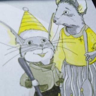 一年级小学生读作文《不偷东西的小老鼠》