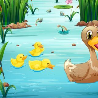 【故事课堂】不听话的小黄鸭