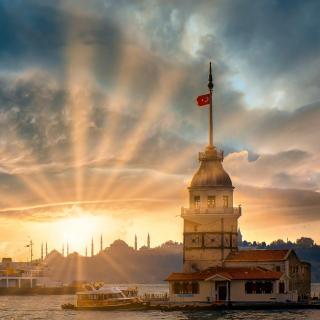 【白噪声】城市之光 伊斯坦布尔的日升月落