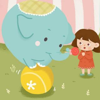 宝宝睡前故事——小象的鼻子