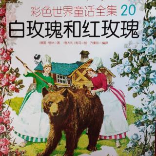 彩色世界童话全集20-白玫瑰和红玫瑰
