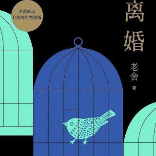 老舍京味小说《离婚》(四)