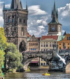 时光之川|波西米亚之城布拉格和伏尔塔瓦河