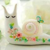 叶子上的小蜗牛
