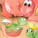 恐龙妈妈和宝贝